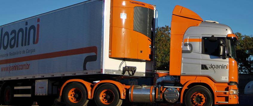 Transporte de cargas congeladas e refrigeradas.
