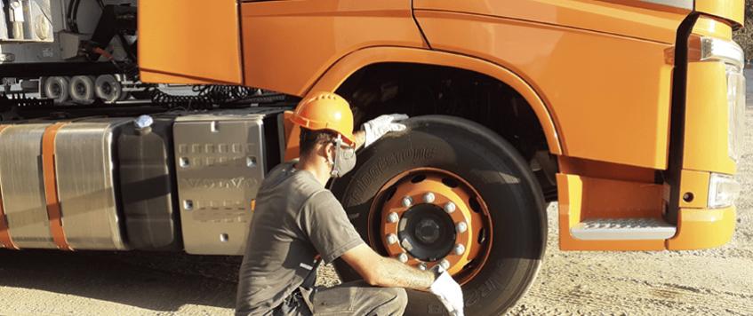Controle de pneus: Qual sua importância para a frota?